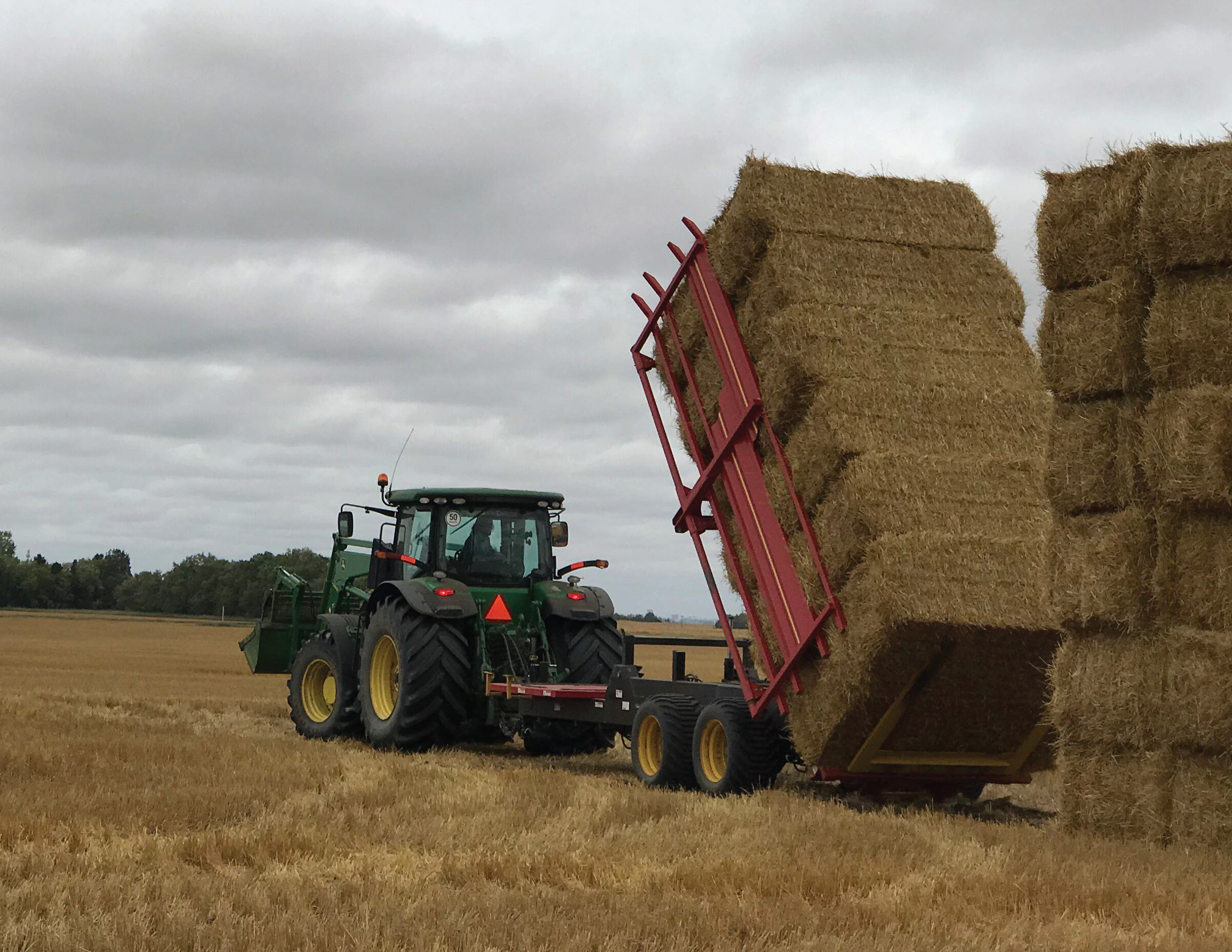 Highline FaStack 1800 &1200 Square Bale Stackers/Handlers